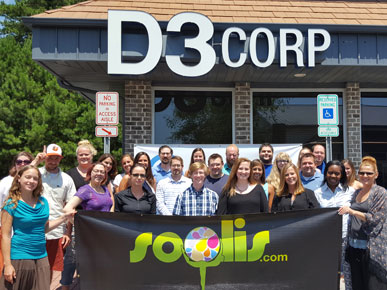 The SoOlis / D3Corp Marketing Team